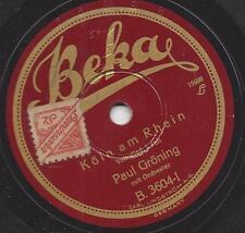 Paul Gröning singt : Köln am Rhein, Volkslied