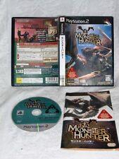 WOW! Monster Hunter (Sony PlayStation 2, 2004) RARE! Japan!