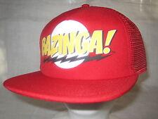The Big Bang Theory Cap BAZINGA Flatbill Hat Truckers Mesh Headwear New JI9