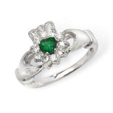 Unbranded Green Cubic Zirconia Fine Jewellery