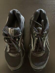 Womens Reebok Runtone Smoothfit Black Running Shoes Size 10