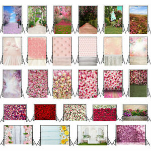 Romantic Wedding Flowers Studio Photography Background Vinyl Photo Backdrop