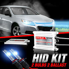 GENSSI HID Xenon Conversion Kit Bulbs For Chevy Malibu LTZ LT LS w/Halogen Lamps