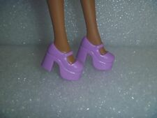 Barbie Shoes - Lavender Chunky Platform Mary Janes Fit Blythe & Skippers