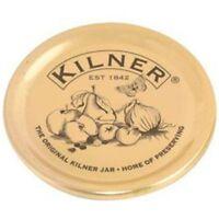Kilner Set Of 12 Gold Preserving Lids Seals Jam Jar Sealing Vacuum