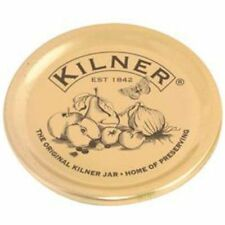 Kilner Set Of 12 Gold Preserving Lids Seals Jam Jar Sealing Vacuum