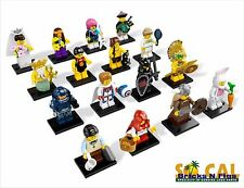 New LEGO 8831 Complete Set of 16 MINIFIGURES Series 7
