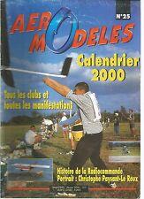 AERO MODELES N°25 HISTOIRE DE LA RADIOCOMMANDE - HELICOPTERE RADIOCOMMANDE