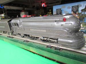 Lionel Prewar 238E Torpedo & Tender & 653, 654, 655, 657 Freight Set - O Gauge