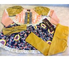 NWT Mustard Pie Old Navy Top Pant Outfit + Headband FALL 2017 4T Jeweled Forest