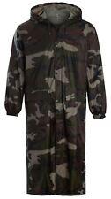 Womens Mens Waterproof Mac Trench Cagoule Hooded Kagool Kag Jacket Trouser