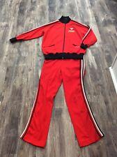 TRUE VINTAGE 1960's Dunlop Polyester Sportswear Track Jacket Pants Suit Tennis