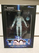"Disney Tron 7"" Action Figure 2019 Diamond Select Tron Flynn Disney Movie Nib 🔥"