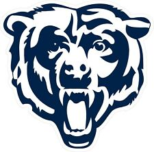 Chicago Bears Logo Decal ~ Car / Truck Vinyl Sticker - Wall Graphics, Cornhole