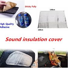 Heat Shield Mat Car Turbo Exhaust Muffler Insulation Hood Fiberglass Cotton Pad