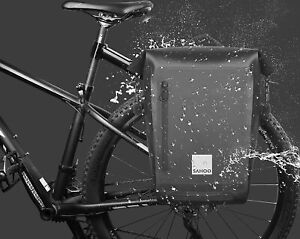 Bike Rack Bag  Fully waterproof Pannier Rear Rack Backpack Bicycle Pannier Trunk