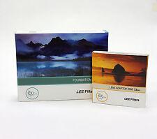 Lee Filters titular de la Fundación Kit + 72 mm estándar Anillo Adaptador. nuevo