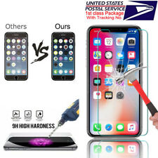 "3x Ultra thin 9H Tempered Glass Screen Protector For Apple iPhone XR 6.1"" US"