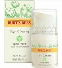 (Lot Of 3) Burt's Bees Eye Cream for Sensitive Skin 0.5 Ounce BNIB