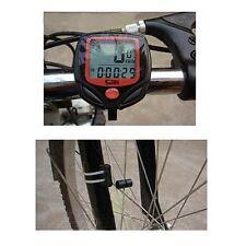 LCD Digitale Bici Bicicletta Impermeabile Computer ODOMETER TACHIMETRO CRONOMETRO UK
