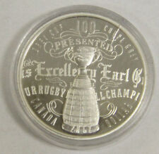 100th Grey Cup Silver Dollar Coin - .9999 Silver