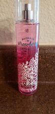 Bath & Body Works Bourbon Strawberry & Vanilla Fragrance Mist 8 oz Spray NEW