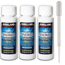Kirkland 5% Liquido Anticaduta Ricrescita Capelli Uomo N°3 Flaconi