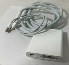 Apple MB571Z/A Mini DisplayPort to Dual-Link DVI Adapter A1306