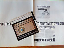 1962 Fedders Air Conditioner Ad Contest Booklet Pamphlet