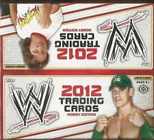 2012 Topps WWE Wrestling Factory Factory Sealed 8 Box Hobby Case -2 Hits Per Box