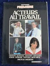 Bibliothèque PREMIÈRE CINÉMA - Acteurs au travail - N°1 de 1981