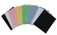 12 x Microfibre Lens Smartphone Glasses Cleaning Cloth Microfiber In 6 Colours