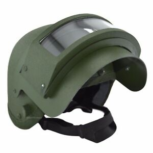 K6-3 Helmet Replica with Steel Vizor Olive For Special Units Russian Army