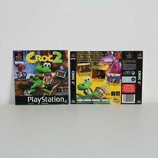 BOX ART INSERT ARTWORK INLAYS FOR PS1 CROC 2 GAME