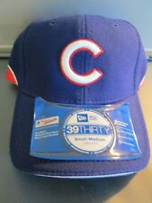 """ Chicago Cubs"" Blue ""Stretch Fit"" New Era Bp, S/M Hat Curved Bill Retail $28"