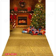 Christmas10'x20'Computer/Digital Vinyl Scenic Photo Backdrop Background SX963B88