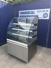 900mm Patisserie Cake Display Fridge Chiller Serve Over Counter Catering Dairy