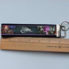 Add on item: Dark Crystal Grosgrain Ribbon Webbing Keychain Wristlet Key Fob
