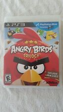 Sony PlayStation 3 ANGRY BIRDS TRILOGY Game PS3 complete w/ unscratched disc CIB