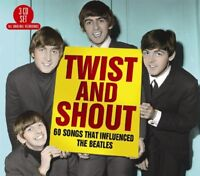 TWIST AND SHOUT 60 SONGS THAT INFLUENCED THE BEATLES 3 CD NEU