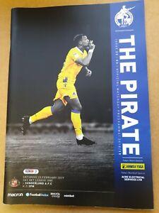 Bristol Rovers V Sunderland League One 28th Feb 2019