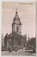 Warks/W Midlands postcard - The Cathedral, Birmingham - RP (A51)
