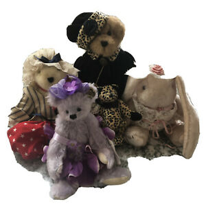 LILLIAN LILACS BEAR-ANNETTE FUNICELLO COLLECTIBLE BEAR PLUS OTHER BEAR FRIENDS