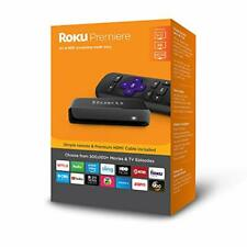 Roku Premiere Version HD/4K/HDR Streaming Media Player W/Remote & HDMI Cable