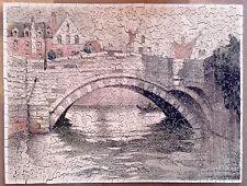 Puzzle bois découpé main FRANCE PUZZLES PARIS COMPLET 400 pièces ancien Vera