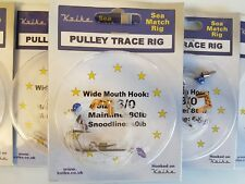 5 x PULLEY TRACE RIGS - KOIKE SEA FISHING TACKLE