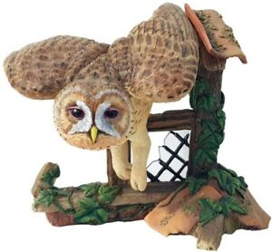 New Boxed Retired Country Artists Tawny Owl Model Hand Painted Product CA00340