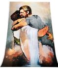 First Day in Heaven Spiritual Religious Blonde Man Print 11 x 17 Brand New