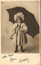 1905 postcard - tis' nt raining number 5182