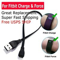 USB Charging Charger Cable Cord for Fitbit Force/Charge Band Bracelet Wristband